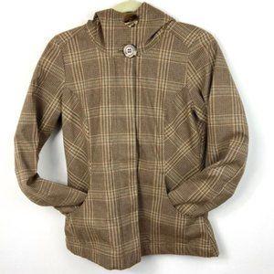 Patagonia Fleece Lined Polartec Winter Coat XS Tan